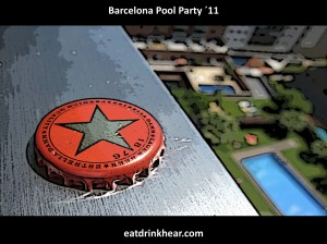 barcelona pool party